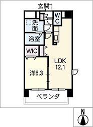 仮)津市南新町マンション[3階]の間取り