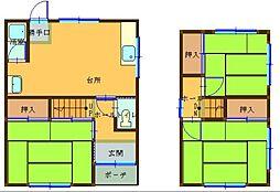 [タウンハウス] 兵庫県姫路市北今宿3丁目 の賃貸【/】の間取り