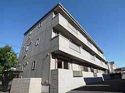 千葉県松戸市新松戸5丁目の賃貸マンションの外観