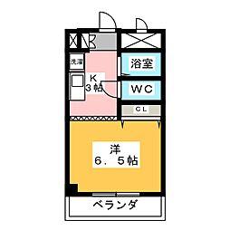 ガストホーフII[3階]の間取り