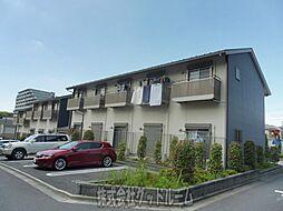 神奈川県川崎市麻生区万福寺3丁目の賃貸アパートの外観