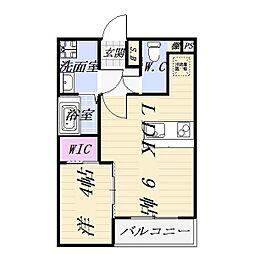 ファミリーステージ柴田[1階]の間取り