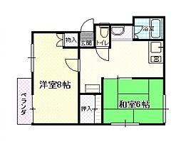 ソファレの里[1階]の間取り