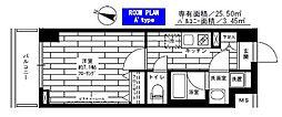 神奈川県川崎市多摩区三田1丁目の賃貸マンションの間取り