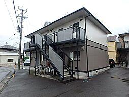 静岡県静岡市駿河区東新田3丁目の賃貸アパートの外観