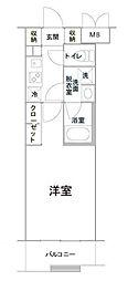 ルーブル三軒茶屋伍番館[2階]の間取り