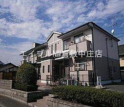 岡山県倉敷市玉島上成の賃貸マンションの外観