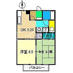 ウイング神田C棟[2階]の間取り