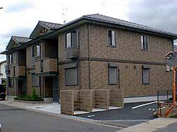 京都府城陽市枇杷庄大堀の賃貸アパートの外観