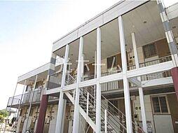 東京都清瀬市下清戸2の賃貸アパートの外観