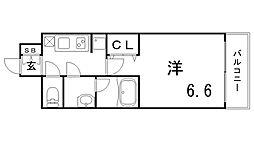 ファーストフィオーレ神戸湊町[6階]の間取り