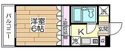 VIPマンション西新井[303号室]の間取り