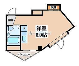 メゾン御供田[4階]の間取り