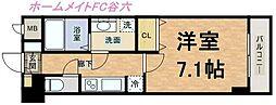 S-RESIDENCE Hommachi Marks[9階]の間取り