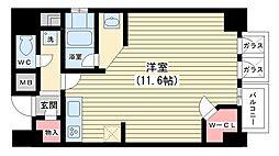 KDX堺筋本町レジデンス[10階]の間取り