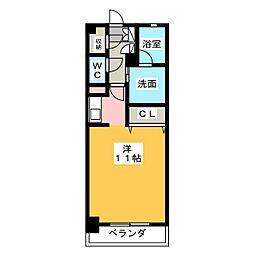 サンマリーノ[6階]の間取り