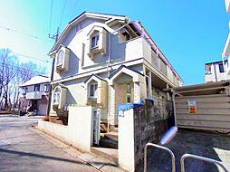 東京都東大和市新堀3丁目の賃貸アパートの外観