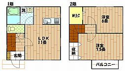 [一戸建] 神奈川県横須賀市佐原5丁目 の賃貸【/】の間取り