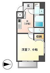 LEXCEEDizumi[2階]の間取り