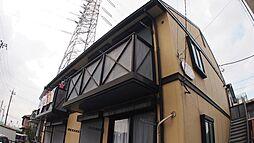 埼玉県川口市南鳩ヶ谷1丁目の賃貸アパートの外観