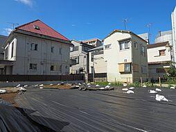 新宿区喜久井町 建築条件なし土地