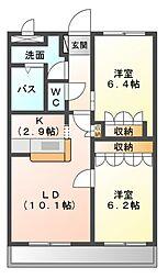 キルシェ[2階]の間取り