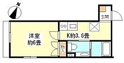 Eco石川台 bt[101kk号室]の間取り