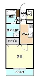JR奥羽本線 山形駅 五日町バス停下車 徒歩3分の賃貸マンション 1階1Kの間取り