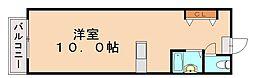 コーポM&T[2階]の間取り