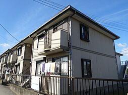 千葉県流山市こうのす台の賃貸アパートの外観