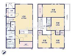 名古屋市天白区高坂町 2号棟 新築一戸建て
