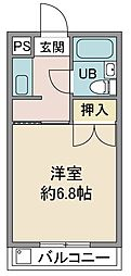 戸田レジデンス[103号室]の間取り