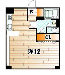 エボリューション高田[3階]の間取り