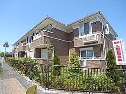 兵庫県神戸市西区中野1丁目の賃貸アパートの外観