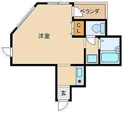 坂本ビル[2階]の間取り