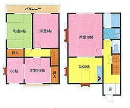 [テラスハウス] 埼玉県さいたま市南区根岸5丁目 の賃貸【/】の間取り