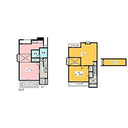 [テラスハウス] 愛知県名古屋市千種区山添町1丁目 の賃貸【愛知県 / 名古屋市千種区】の間取り