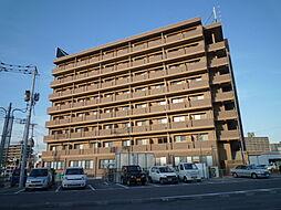 岡山県倉敷市阿知1丁目の賃貸アパートの外観