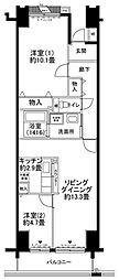 ルリエ横浜長者町[707号室号室]の間取り