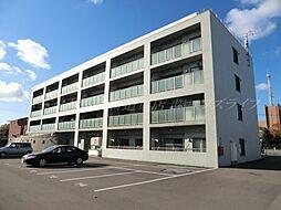 北海道札幌市北区あいの里三条9丁目の賃貸マンションの外観