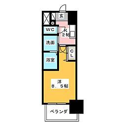丸東レジデンス大須[10階]の間取り