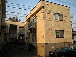 クレセントハウスB棟[1階]の外観