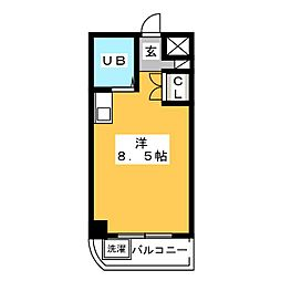 サングリーン御器所[4階]の間取り