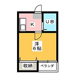タイディーハウス[2階]の間取り