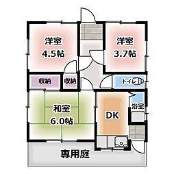 [一戸建] 愛知県北名古屋市九之坪 の賃貸【/】の間取り