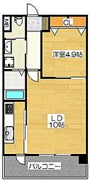 S-FORT筑紫通り[5階]の間取り