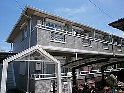 大阪府高槻市富田町4丁目の賃貸アパートの外観