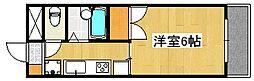 MCマンション[4階]の間取り
