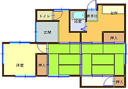[一戸建] 和歌山県海南市重根 の賃貸【和歌山県 / 海南市】の間取り