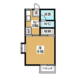 T'S1[2階]の間取り